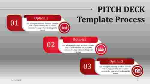 pitch deck template PPT