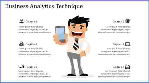 business analytics powerpoint - executive style