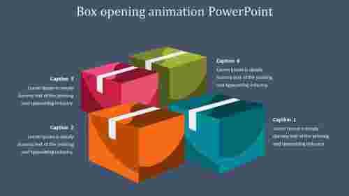 boxopeninganimationpowerpointslide