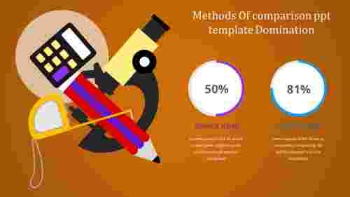 comparisonPPTtemplate