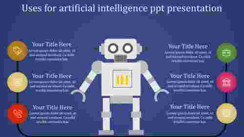 Circular loop Artificial Intelligence PPT Presentati