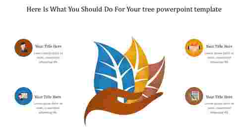 Amazing tree powerpoint template