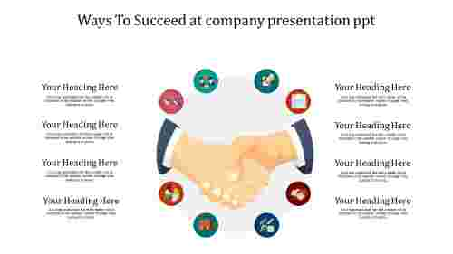 company presentation powerpoint for succeed