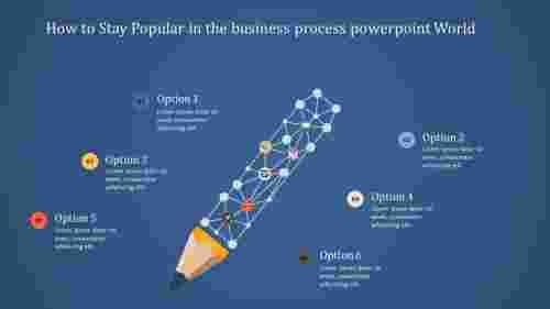 businessprocesspowerpointwithcreativepencil