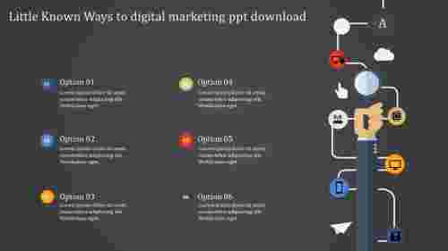 Digital Marketing PPT Download Model