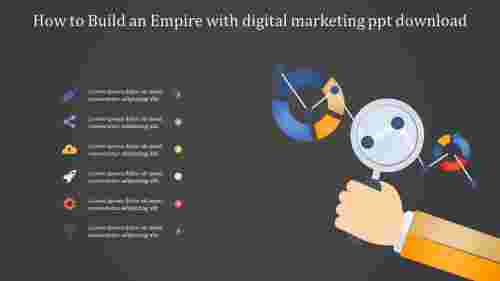 Technical digital marketing powerpoint download