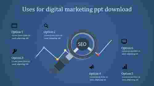 SEO digital marketing powerpoint download