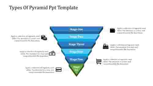The Miracle Of Pyramid PPT Template