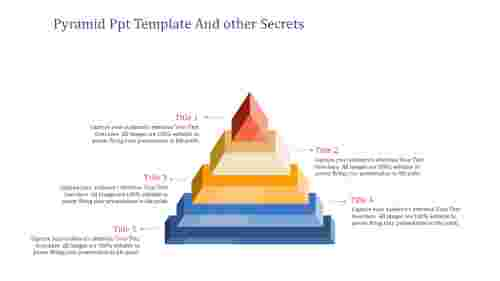 Pyramid PPT Template The Most Trending Thing