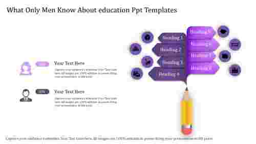 educationpowerpointtemplates-purpleeightstage