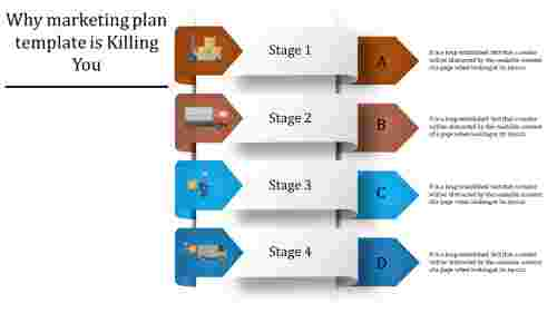 marketing plan template - four arrows