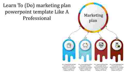 Marketing Plan Powerpoint Template - Multi Color