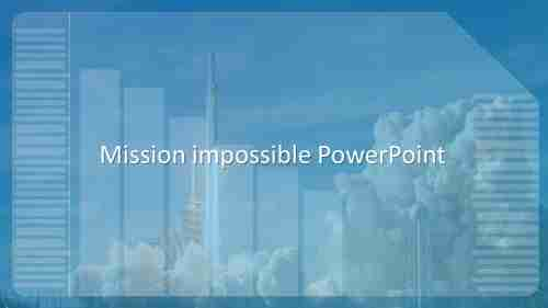 Armymissionimpossiblepowerpoint