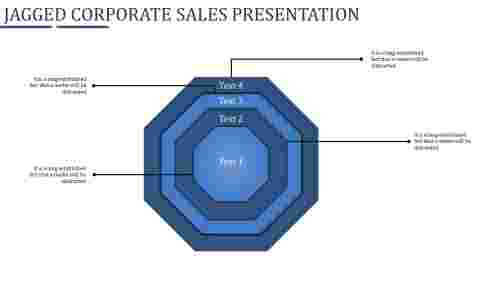 corporate sales presentation ppt-Jagged Corporate sales presentation