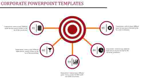 Corporate powerpoint templates - 5 Separation