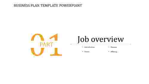 A zero noded BUSINESS PLAN TEMPLATE POWERPOINT