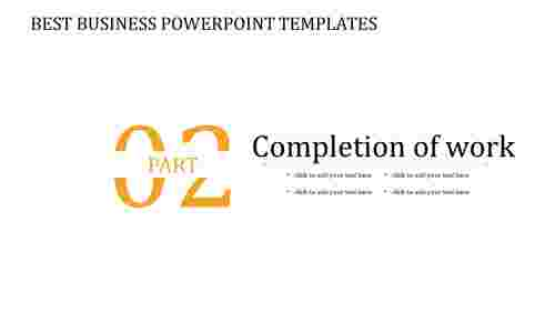 A zero noded best business powerpoint templates