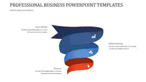 A three noded PROFESSIONAL BUSINESS POWERPOINT TEMPLATES