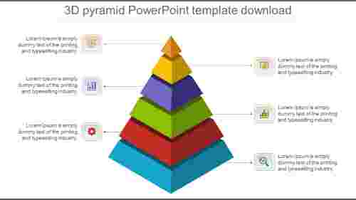 Attractive%203d%20pyramid%20powerpoint%20template%20download%20