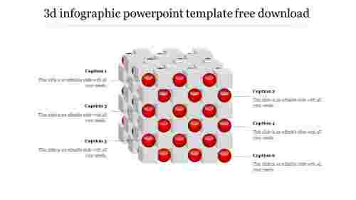 Cube3Dinfographicpowerpointtemplatefreedownload