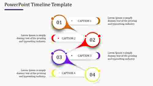 Creative Powerpoint Timeline Template model