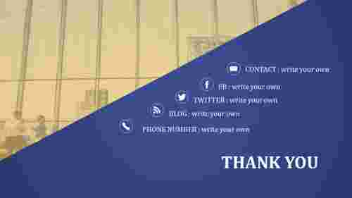 ThankyouPowerpointTemplate-Slantingmodel