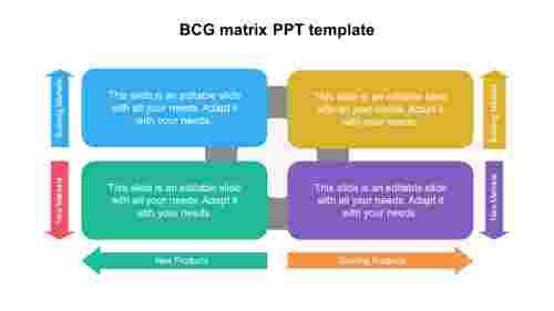 BCGmatrixPPTtemplatedesign