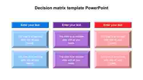 DownloadDecisionmatrixtemplatePowerPoint