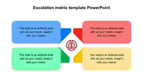 EscalationmatrixtemplatePowerPointdesigns