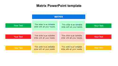 SimpleMatrixPowerPointtemplatedesigns