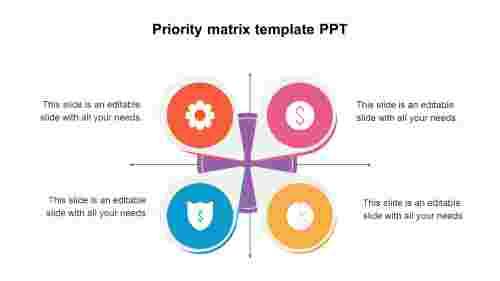 PrioritymatrixtemplatePPTmodel