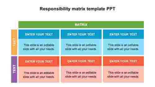 ResponsibilitymatrixtemplatePPTdesigns