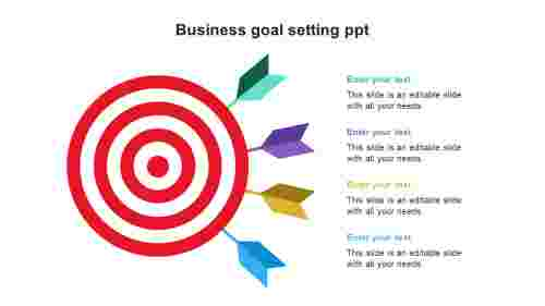 Businessgoalsettingppttemplates