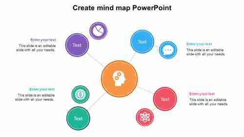 CreatemindmapPowerPointtemplates