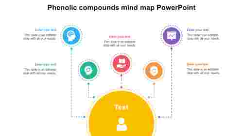 PhenoliccompoundsmindmapPowerPointtemplates