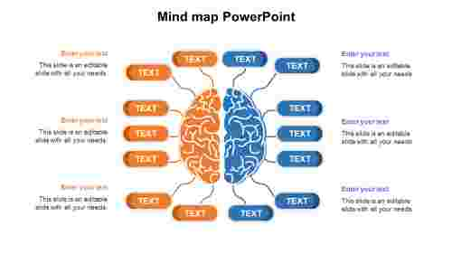 MindmapPowerPointdiagrams