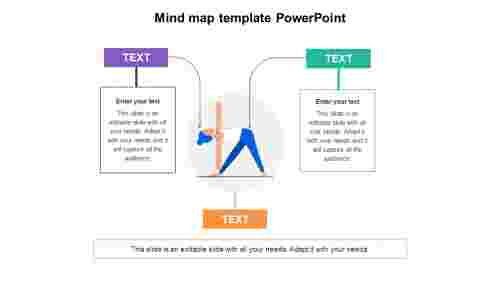 Mind map template PowerPoint designs