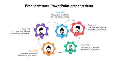 FreeteamworkPowerPointpresentationstemplate