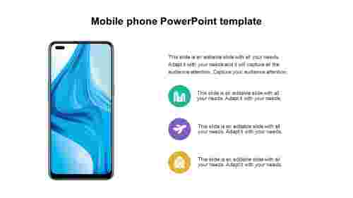 Mobile phone PowerPoint template designs