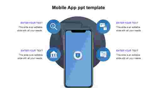 Mobile App ppt template