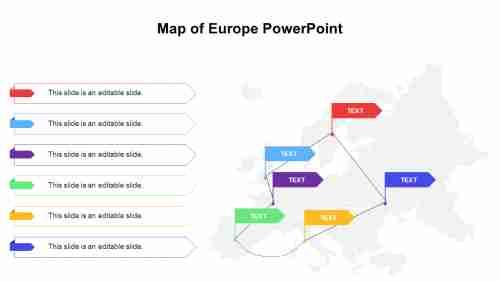MapofEuropePowerPointpresentation