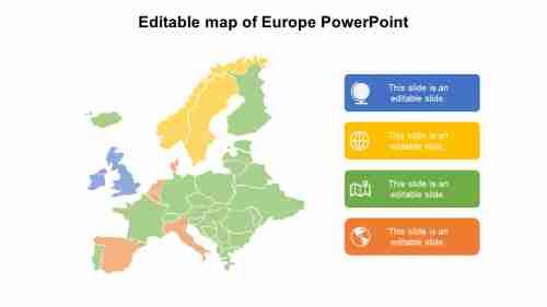 EditablemapofEuropePowerPointtemplates