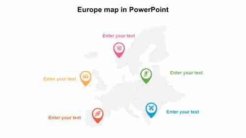 EuropemapinPowerPointpresentation