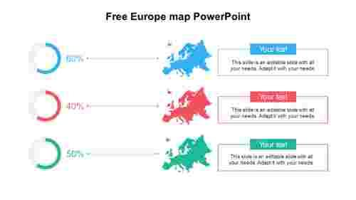 FreeEuropemapPowerPointtemplate