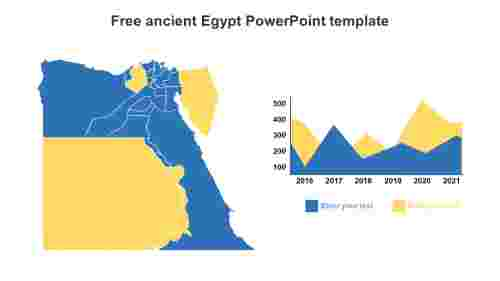 Free ancient Egypt PowerPoint template diagrams