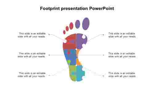 FootprintpresentationPowerPointtemplates