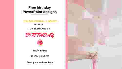 Free%20birthday%20PowerPoint%20Designs%20Templates