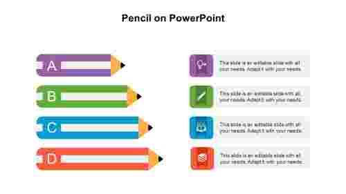 PencilonPowerPointpresentation