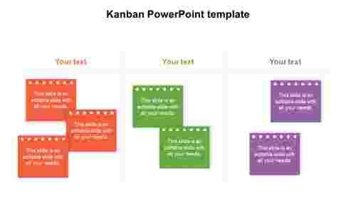 Kanban%20PowerPoint%20template%20diagrams