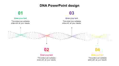 DNA PowerPoint design